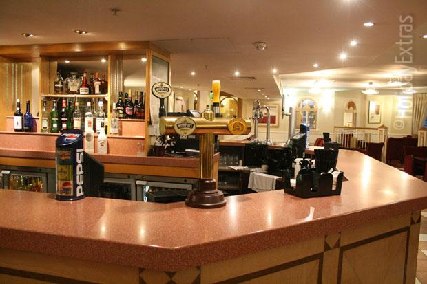 The bar at the Holiday Inn Slough Windsor