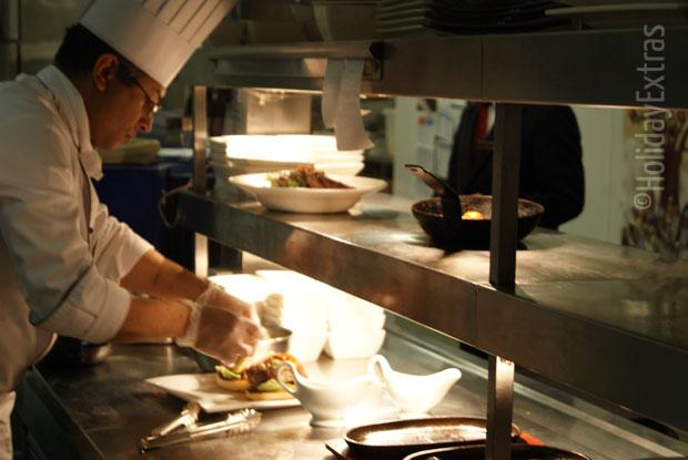 The chef at the Marriott Heathrow
