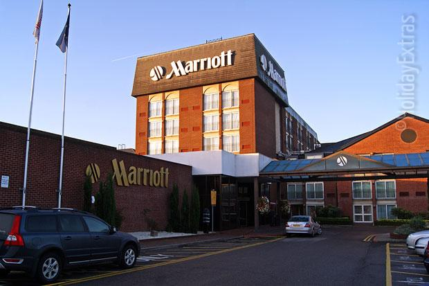 Marriott Windsor outside