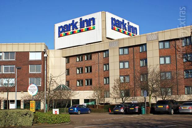 Exterior of the Park Inn Heathrow