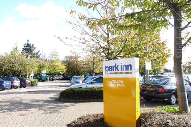 Park Inn Heathrow carpark