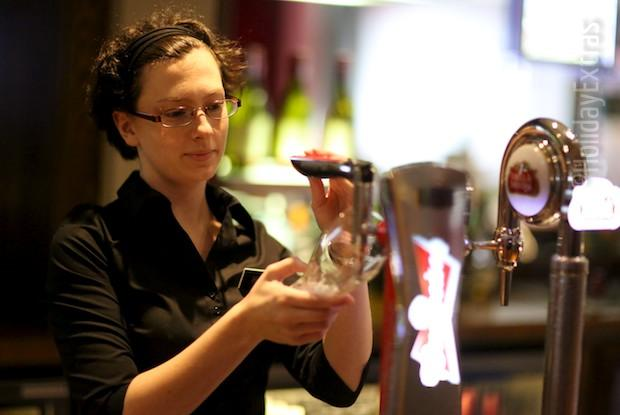 Enjoy a drink at the Premier Inn terminal 5