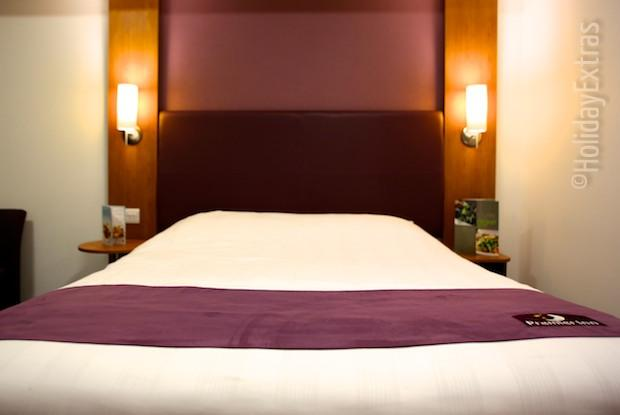 Premier Inn terminal 5 double room
