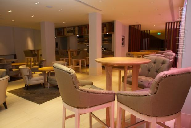 The Discovery bar at the Sheraton Heathrow