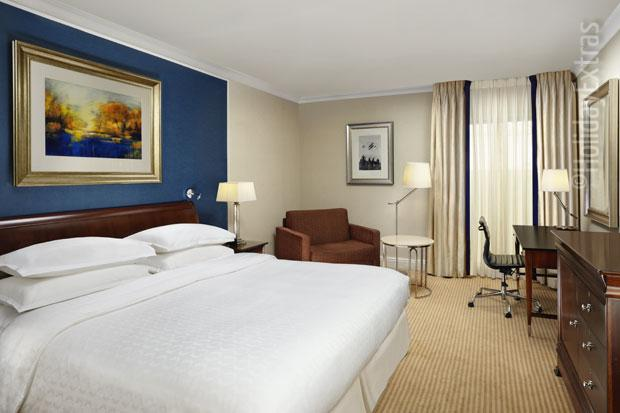 A classic room at the Sheraton Skyline