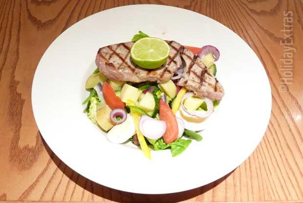 A tasty lunch at the Thistle Heathrow