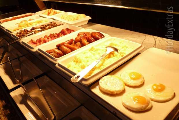 The Thistle Heathrow cooked breakfast