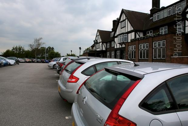 Parking at the Mercure Leeds Parkway hotel