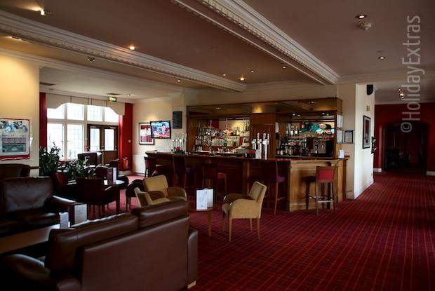 The bar at the Mercure Leeds Parkway hotel