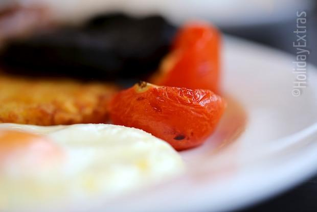 English breakfast at the Crowne Plaza Liverpool