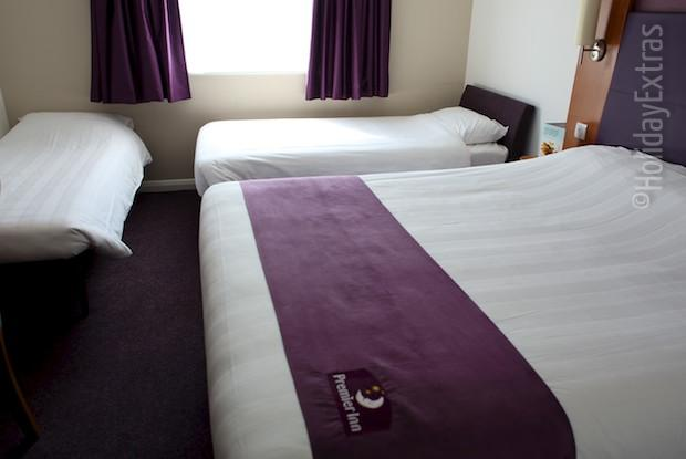 A family room at the Premier Inn