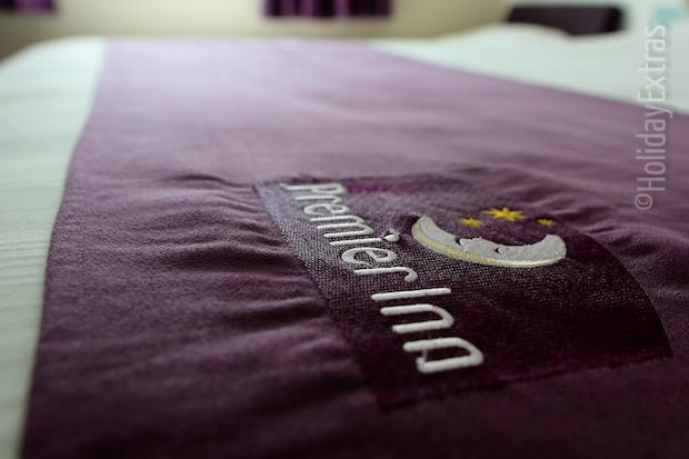 Premier Inn bedding