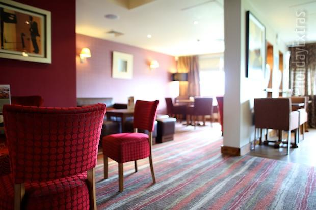The restaurant at the Premier Inn
