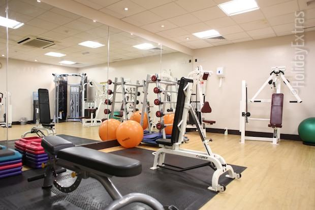The gym at the Holiday Inn Luton South M1 J9