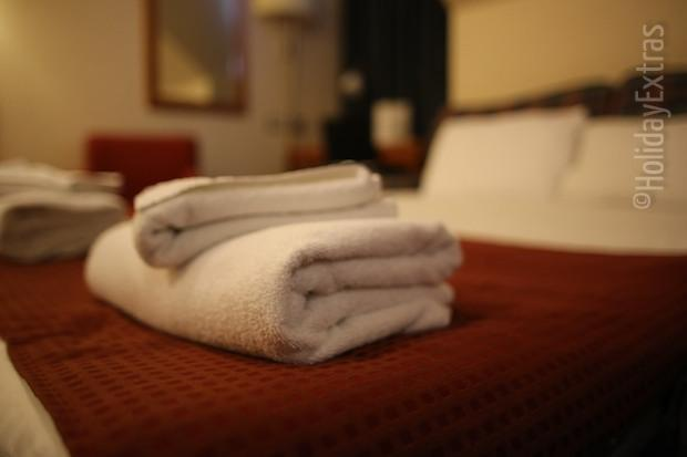 Towels at the Holiday Inn Luton South M1 J9