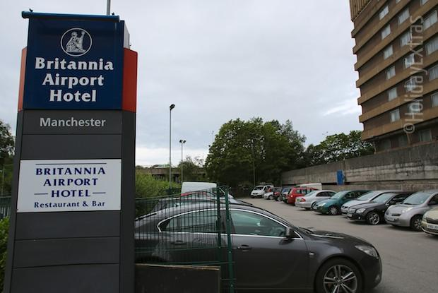Parking at the Britannia Manchester Airport