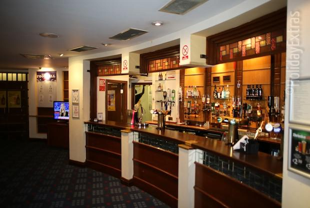 The bar at the Britannia Manchester Airport