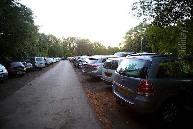Parking at the Britannia Country House