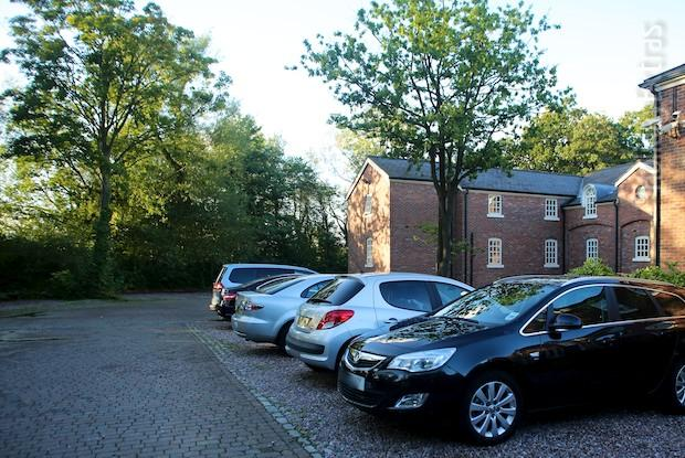 Parking at the Etrop Grange Hotel