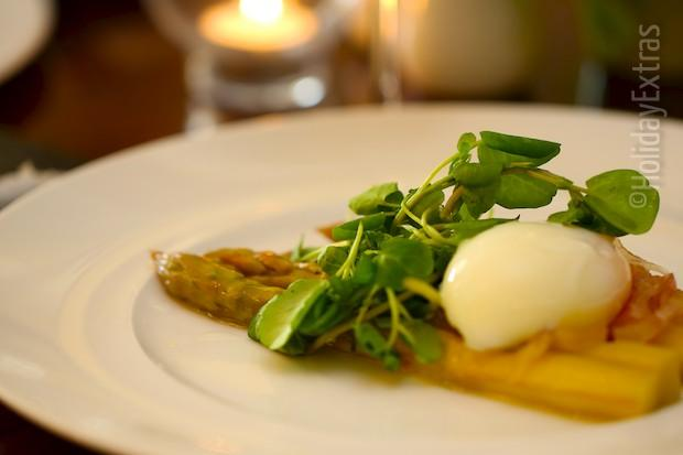 Tasty meals at the Etrop Grange Hotel
