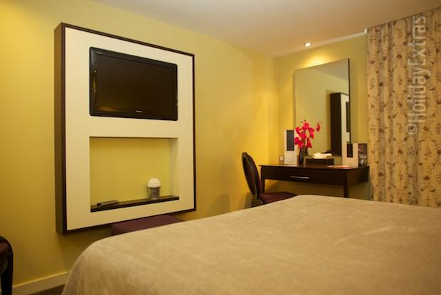 Relax in your room at the Hallmark Hotel