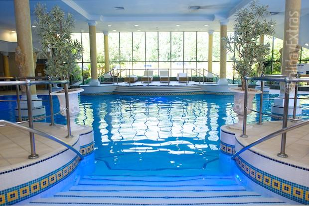 The Marriott pool