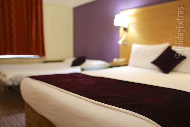 A triple room at the Mercure Bowdon