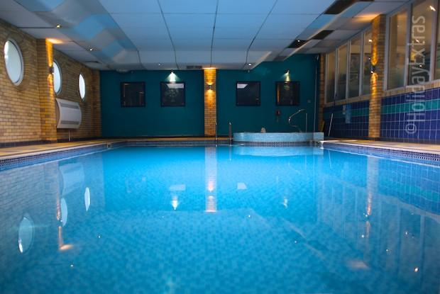 The pool at the Mercure Bowdon