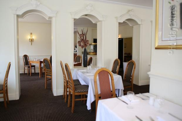 The restaurant at the Mercure Bowdon