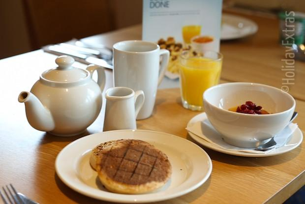 Breakfast at the Premier Inn Manchester airport North