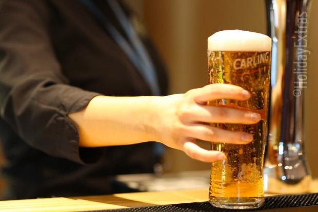 Have a pint at the Premier Inn Manchester airport North