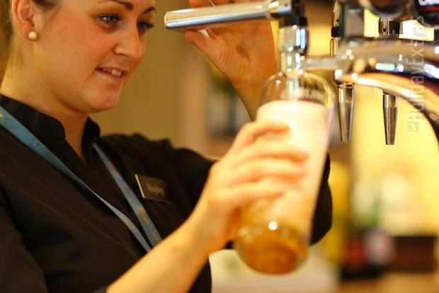 Have a pint at the Premier Inn Manchester airport South