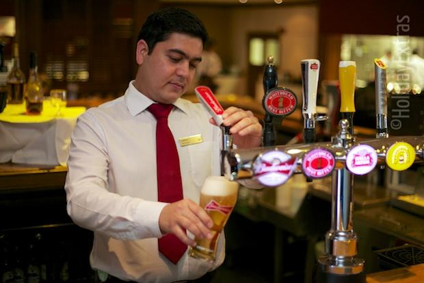 Have a pint at the Hilton Stansted Airport