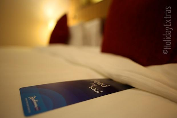 Radisson Blu bedding