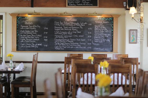 Warmans Barn menu