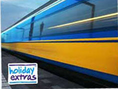 Holiday Extras Airports by Rail