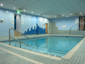 The pool at the Britannia Aberdeen
