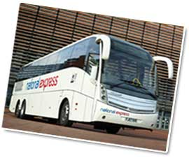 East Midlands Coach Journey