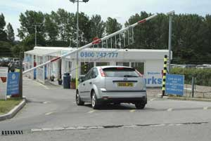 All our East Midlands airport car parks are fully secured