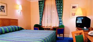 A room at the Thistle hotel East Midlands