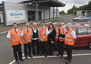 Friendly staff at Airparks Glasgow