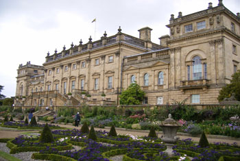 Harewood House in Leeds. Used under creative commons license from ell brown