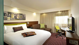 A room at the Hampton by Hilton Liverpool John Lennon airport