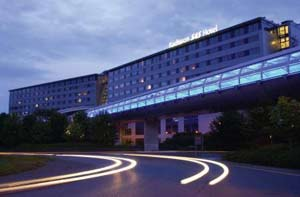 Book a family room at the Radisson SAS at Manchester airport