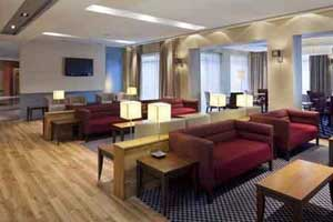 The lounge at the Holiday Inn Express Southampton M27 junction 7
