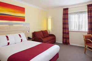 A room at the Holiday Inn Express Southampton M27 junction 7