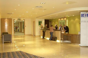Reception at the Holiday Inn Eastleigh