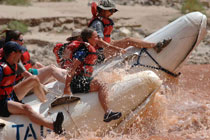 Colorado's rapid rafting