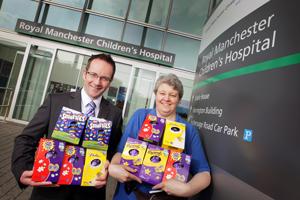 Easter Egg Manchester Childrens' Hospital