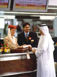 Emirates check in